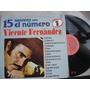 Vinyl Vinilo Lp Acetato Vicente Fernadez 25 Grandes Con El N