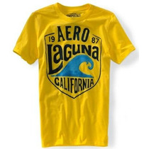 Aeropostal Camisa Camiseta Cuello Redondo Envio Gratis