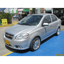 Chevrolet Aveo Emotion 1.6l Mt Aa 2ab Abs