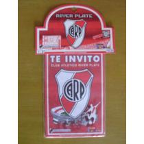 River Plate -tarjetas De Invitacion Paquete