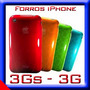 Iphone 3g S Forros Silicona Acrilicos Funda Protector Caucho