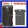 Forro + Antiespia Protector De Pantalla Nokia X3 Lamina Case