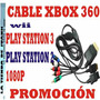 Cable Video Pa  Xbox Sony Play Station Nintendo Wii Video Hd