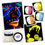 ¡ Pintura Uv Glow Neón Fluo Cuerpo Blacklight Body Paint !!
