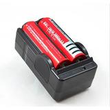 Cargador De Baterias 18650 X2  Pila Recargable Li-ion, Litio