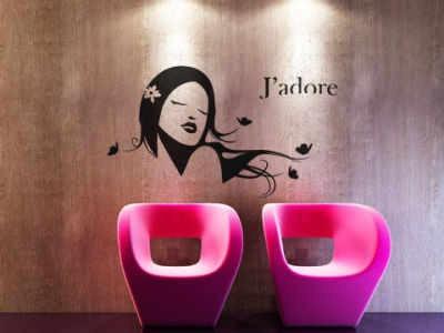 Decoracion para peluquerias salones de belleza y spa for Decoracion de peluquerias