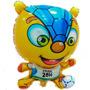 Globo Metalizado Grande Mascota Fuleco Mundial Brasil 2014