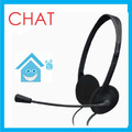 Diadema Audifono Microfono Chat Cafe Internet Skype Msn