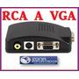 Convertidor Adaptador Rca S-video A Vga