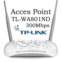 Acces Point Inalámbrico N 300mbps Tplink Incluye Poe Pereira