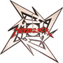 Reloj De Pared Metallica Metalica En Madera