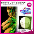 Pintura Uv Glow Neón Fluo Cuerpo Blacklight Body Painting