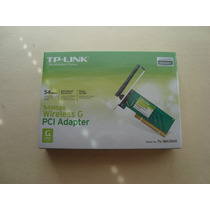 Tarjeta De Red 54mbps Wireless Tl-wn350g Pci Adapt Sellada
