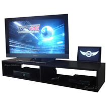 Mueble Flotante 120cm Para Tv Lcd Led, Xbox360, Bluray, Ps3