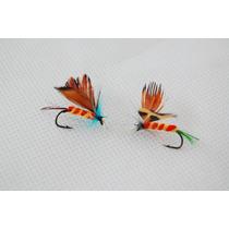 Señuelos Moscas Para La Pesca Fly X 2 Cajas Importadas