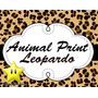 Invitaciones Animal Print Leopardo Diseñá Tarjetas, Cumple