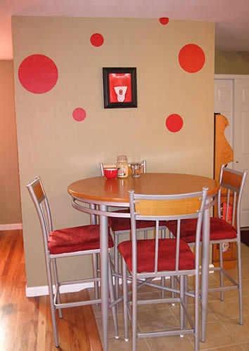 Decoracion para comedores del hogar en vinilo adhesivo for Decoracion del hogar s a