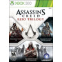 Assassins Creed Ezio Trilogy Xbox 360 Nuevo Original