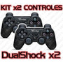 Kit Control De Juegos Gamepad Usb, Dual Shock Analog/digital