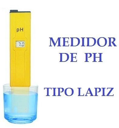 medidor ph digital phmetro lcd acuario piscina laboratorio