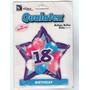 Globo Estrella 18 Años Birthday, Cumpleaños, Fiestas