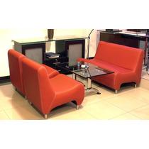 Sofa Y Poltrona Para Sala De Espera