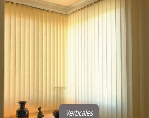 Cortinas y persianas verticales hogar y oficina - Cortinas para oficinas verticales ...