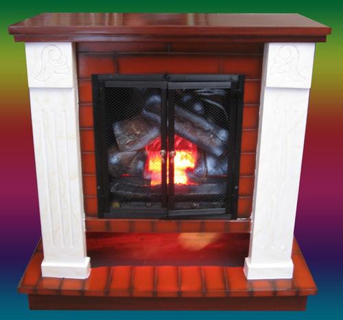 Chimeneas el ctricas con calefacci n en bogot - Fuego para chimeneas decorativas ...