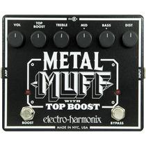 Distorsion Metal Muff Con Top Boost Electro Harmonix