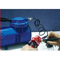 Aerografo Bd-128 + Compresor Profesional