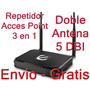 Repetidor Inalámbrico Wifi + Acces Point 3 En 1 Encore Doble