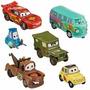 Disney Set De Figuras Cars Y Sus Amigos Original Entrega Inm