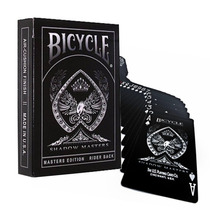 ¡ Cartas Bicycle Shadow Masters Ellusionist Baraja Poker !!