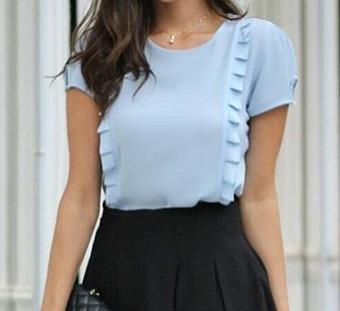 Blusas para mujer Limonni LI509 Campesinas