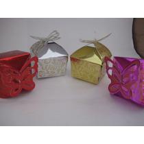 Cajas Para Recordatorios, Plateadas - Fucsia, Rosadas Quince