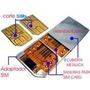 Adaptador Doble Sim Card Pa Celulares Samsung Nokia Htc