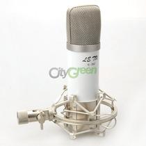 Kit De Grabacion Microfono De Condensador Araña Antipop Cabl