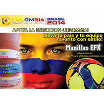 Manillas Silicona Seleccion Colombia