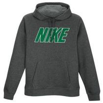 Buzo Nike Gris Nike Club Block Mesh Po Hoodie-talla M