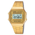 Casio Dorado Clasico Old School A 168 Wg 100% Original