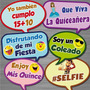 Carteles Habladores Letreros Para Fotos Hora Loca Fiestas!!