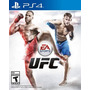 Ufc Ps4 Playstation 4 Nuevo Original Jxr