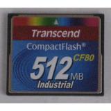 Memoria Compact Flash Transcend 512mb 80x