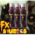 Sangre Artificial Con Latex - Fx Studioshalloween