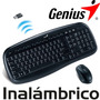 Genius Combo Teclado Mouse Inalambrico Usb Kb-8000x