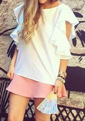 Blusas para mujer Limonni LI756 Campesinas