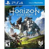 Horizon Zero Dawn Ps4 Nuevo Original Domicilio - Jgames