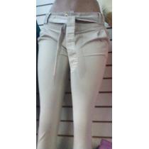 Pantalon En Drill Para Dama