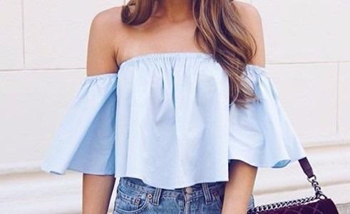 Blusas para mujer Limonni LI878 Campesinas