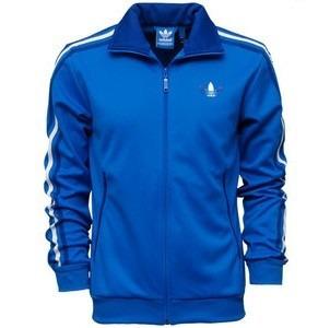chaqueta adidas original azul